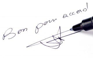 Valeur juridique Mention manuscrite Bon pour accord