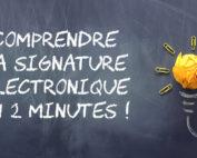 La signature électronique en 2 minutes